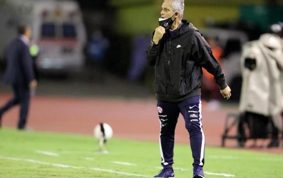 El técnico Reinaldo Rueda seleccionador de Chile