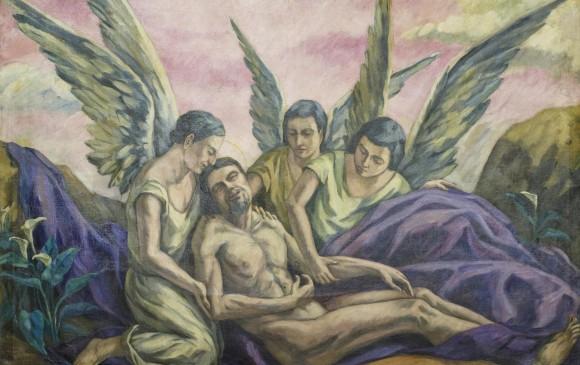 Descendimiento de Cristo1929 Edificio Anexo