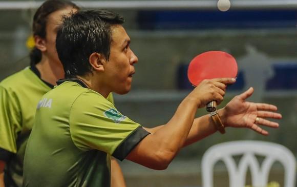 Alexánder Echavarría lideró el conjunto que ganó ayer la medalla de oro por equipos al vencer a Boyacá.