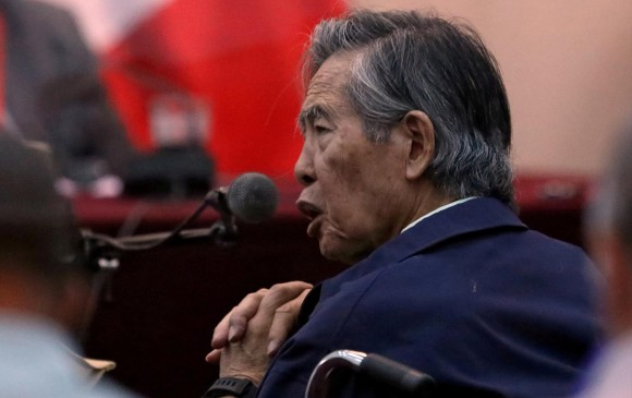 Alberto Fujimori, expresidente de Perú. FOTO: REUTERS