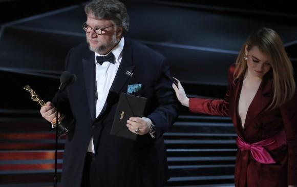 Guillermo del Toro es el Mejor Director de Los Óscar 2018. FOTO Reuters