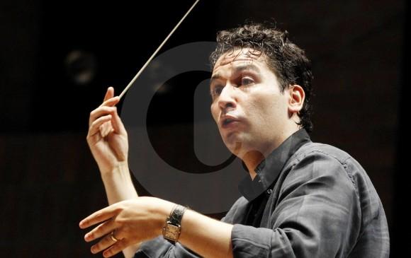 El músico colombiano es uno de los mejores directores de orquesta del mundo. FOTO Jaime pérez munévar