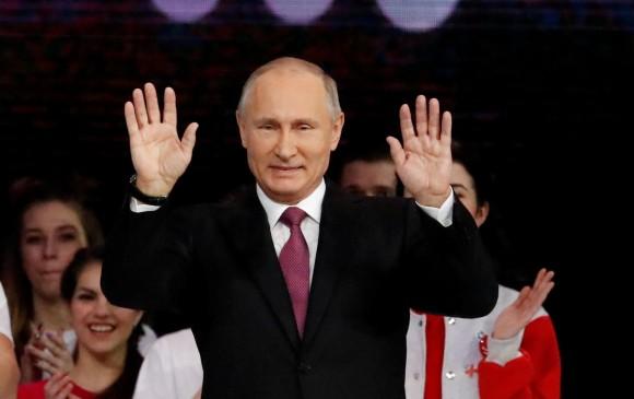 Putin quiere reelegirse como presidente de Rusia
