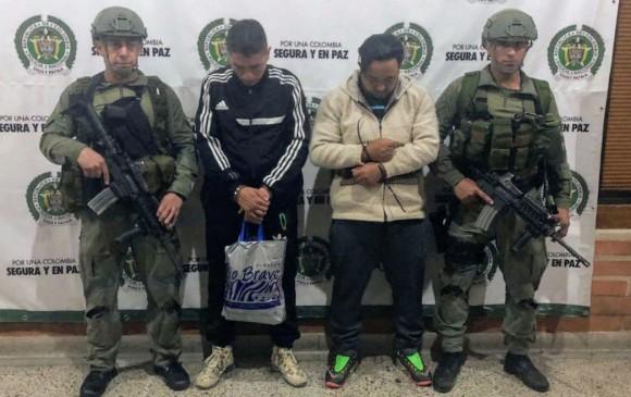 Capturan a alias 'Nano' uno de los más buscados en Medellín