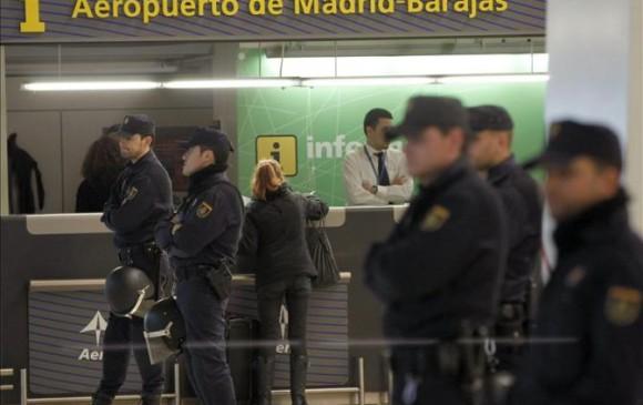 Según la Policía de Madrid, las capturas se producen después de meses de seguimiento y pesquisa suscitada tras la captura de otro miembro de la organización. FOTO EFE