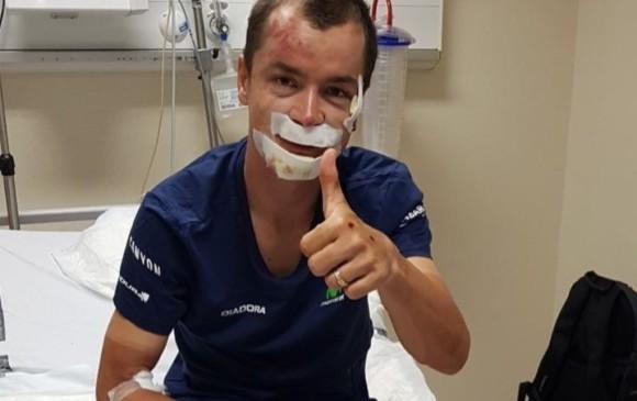 Carlos Betancur, primer colombiano en abandonar la Vuelta a España
