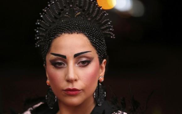 Lady Gaga homenaje a China en 2015. FOTO Reuters