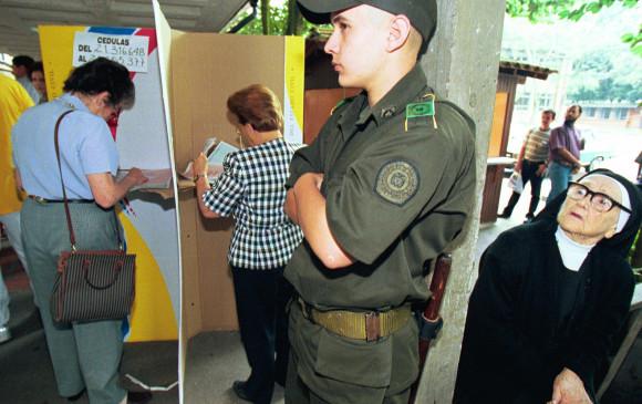 Riesgos electorales en 170 municipios de Colombia