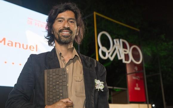 Leonardo Vaca, ganador en categoría Imagen. Foto Edwin Bustamante