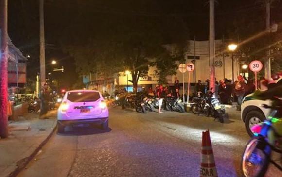 Ataque con granada dejó cuatro policías heridos en Cartagena