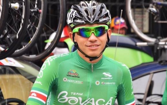 Murió el ciclista colombiano Cristian Andrés Sierra