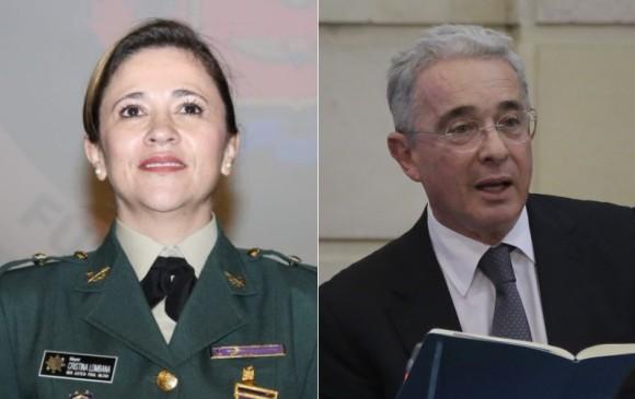 Magistrada Cristina Lombana no conocerá procesos contra Uribe