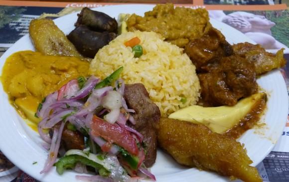 Plato La Bandera, fusión de varias comidas típicas. FOTOS sstock y cortesía
