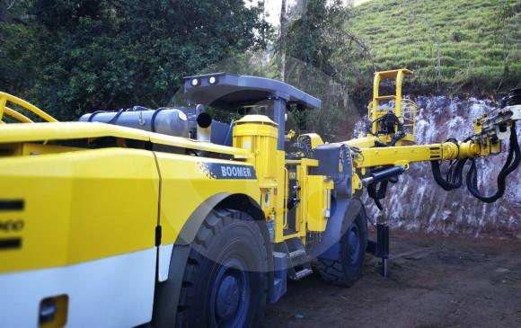Presidente Santos visita obras del Túnel del Toyo en Antioquia