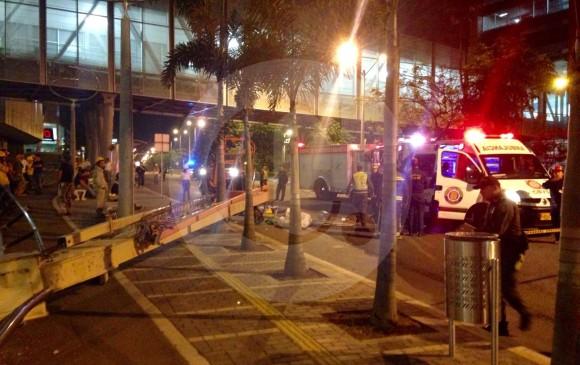 Gr A Caus Accidente En El Centro Comercial Mayorca En
