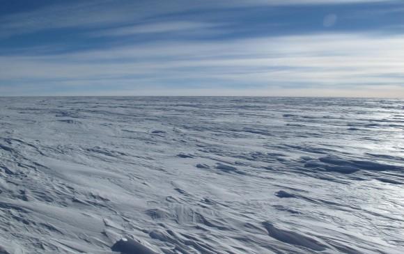 Casi 100 grados bajo cero en la Antártida