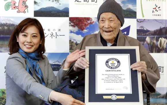 Murió el hombre más viejo del mundo a los 113 años