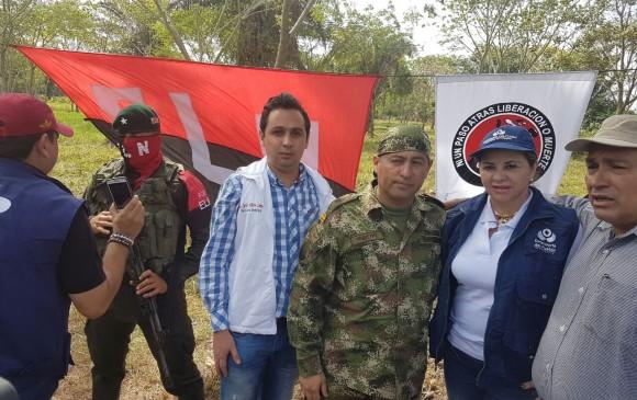 El ELN liberó a un soldado secuestrado hacía una semana