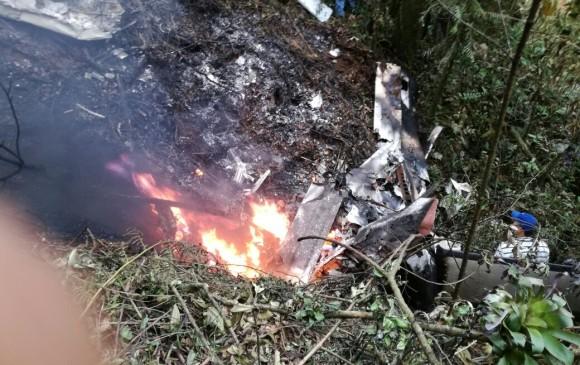 Dos muertos tras accidente de avioneta en Colombia