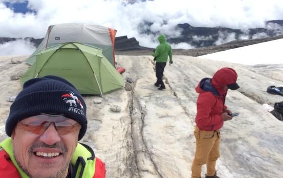 A 5.027 metros vigilan el ecosistema
