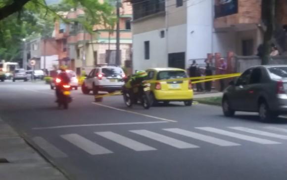 Dos personas heridas dejó un ataque en la comuna 13, este martes. Foto: Cortesía