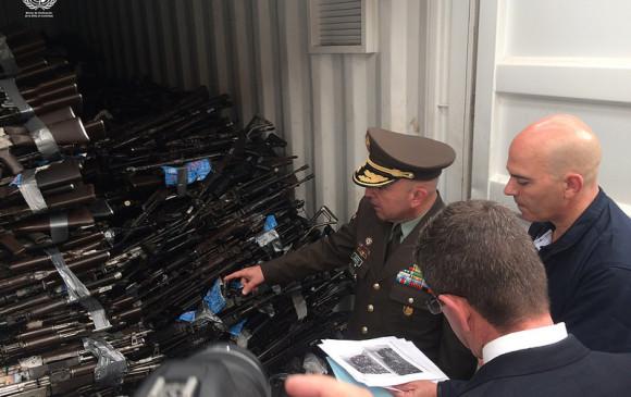 COLOMBIA: Finalmente, ¿cuántas armas entregó las Farc?