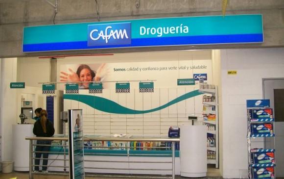 Cafam asumirá el control total de las 91 farmacias que Éxito y Carulla tienen en sus puntos de venta. FOTO cortesía