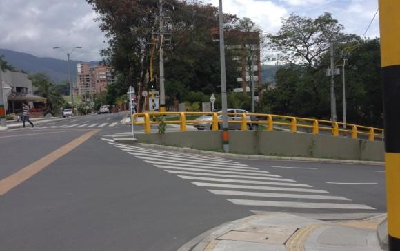 Transversal Intermedia con la Loma del Chocho, en Envigado. FOTO CORTESÍA CARLOS CADENA