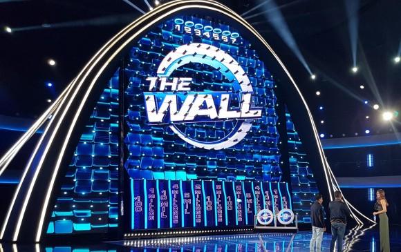 The Wall, programa de concurso del Canal Caracol. FOTO COLPRENSA