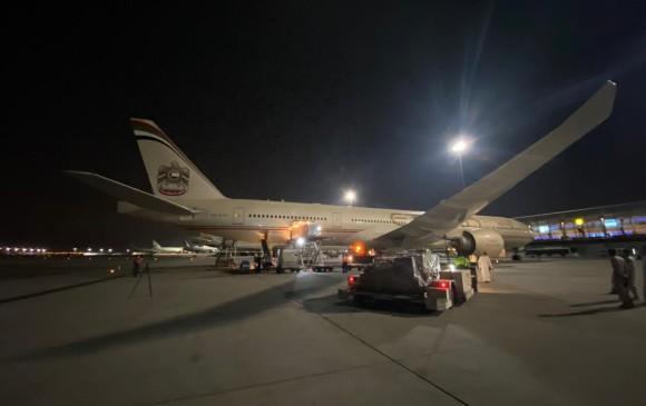 CORONAVIRUS: Qué trajo avión de Emiratos Árabes para ayudarnos con coronavirus