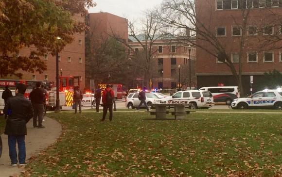 Ataque a cuchilladas deja varios heridos en la Universidad de Ohio