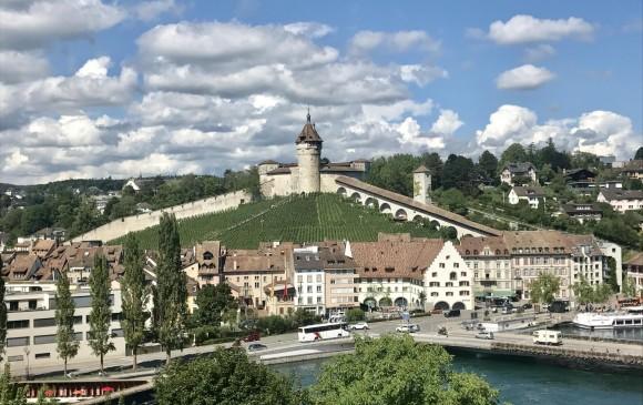 La fortaleza de Munot en Schaffhausen