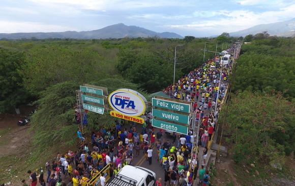 Hay una crisis humanitaria en la frontera con Venezuela: Procurador