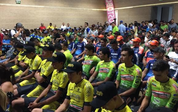 Sevilla, Cala y Suárez, favoritos en la Vuelta a Colombia