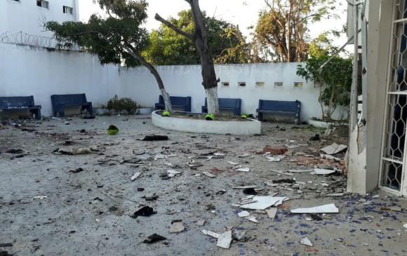 Se entregó mujer presuntamente vinculada a explosión del Eln en Barranquilla