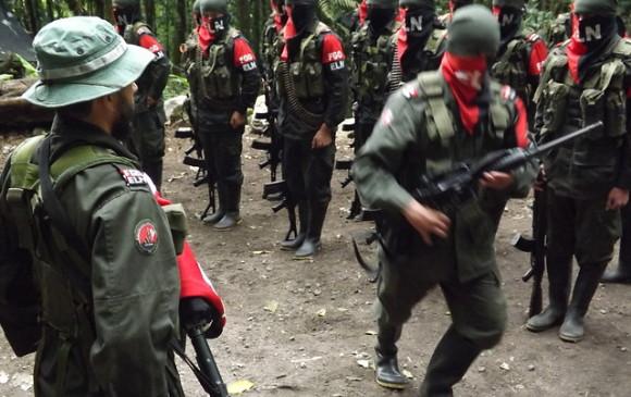 Guerrilla del Eln. FOTO ARCHIVO COLPRENSA