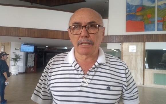 Diputado venezolano, Ismael García. Foto: Rosalinda Hernández