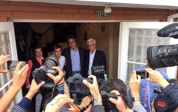 Candidato Fajardo confirmó como compañera de fórmula presidencial a Claudia López