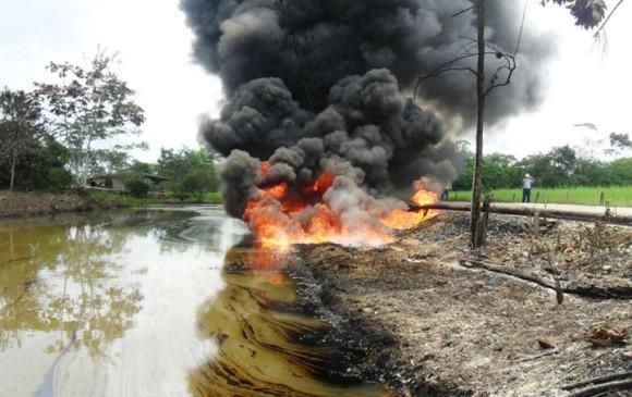 Nuevo atentado contra el oleoducto Caño Limón Coveñas