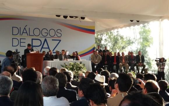 Colombia y ELN buscan cese el fuego