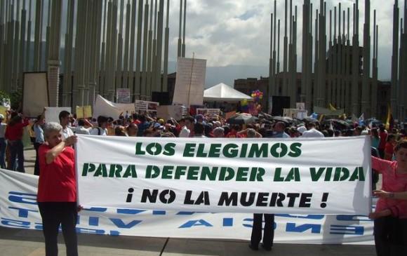 En 2006 la Corte Constitucional declaró legal la interrupción voluntaria del embarazo en tres circunstancias. FOTO: Jaime Munévar