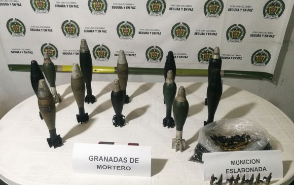 Capturan hombre que transportaba 12 granadas en un bus en Antioquia