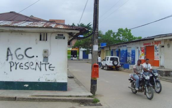 El Clan del Golfo, o Autodefensas Gaitanistas de Colombia (Agc), atormenta a los ciudadanos de El Bagre y el Bajo Cauca desde 2008. FOTO: archivo.