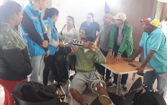 Jorge Luis García Ángel, minero de 27 años que debe volver al Bagre. FOTO EL COLOMBIANO
