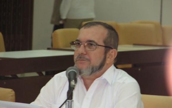 'Timochenko', fue internado de urgencia en clínica de Villavicencio, aparente trombosis