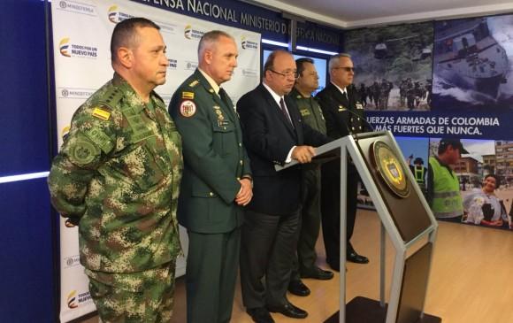 Unos 1.160 miembros de la fuerza pública colombiana fueron detenidos desde 2016