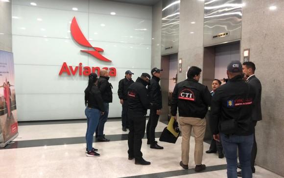 Fiscalía allanó la sede de Avianca Holdings