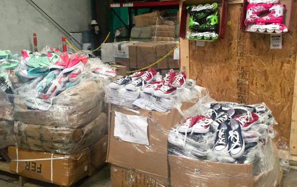 Golpe al contrabando chino en Bogotá