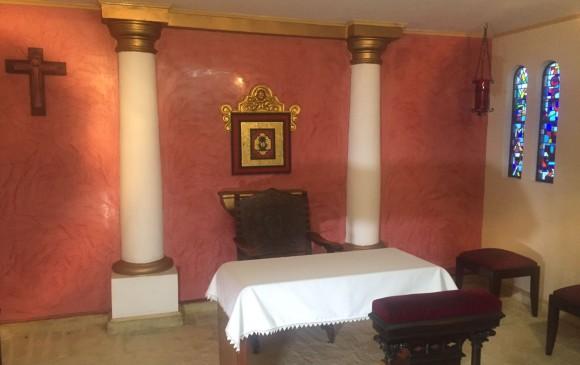La sala adjunta a la habitación. FOTO CORTESÍA