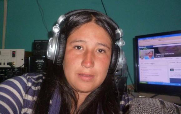 Efigenia Vásquez indígena y comunicadora que murió en medio de enfrentamientos con el Esmad